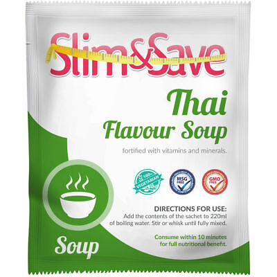 £1.99 • Buy Slim And Save ® VLCD/TFR Diet Meal Replacement Thai Soup 155 Cals - NE-1THSP