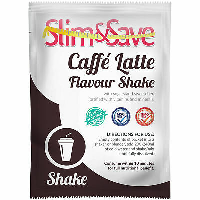£1.99 • Buy Slim And Save ® VLCD Diet Meal Replacement Caffe Latte Shake Hot/cold  -NE-1CFLT