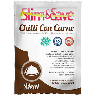 £1.99 • Buy Slim & Save  ® VLCD / TFR Diet Meal Replacement Chilli Con Carne - NE-1VGCH