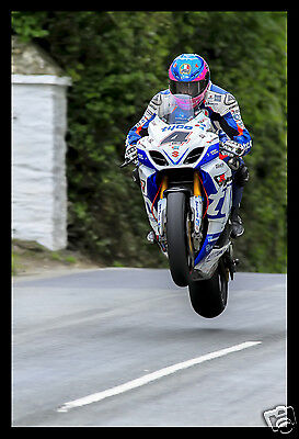 High Quality A3 Poster Print - Guy Martin - Isle Of Man TT Races  [A3-04] • 8.99£