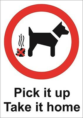 No Fouling Plastic Or Foamex Sign Or Sticker Choice Of Sizes Dog Litter