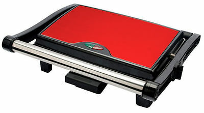 Stainless Steel 3 Slice Panini Sandwich Press & Health Grill Maker Drip Tray  • 99.99£