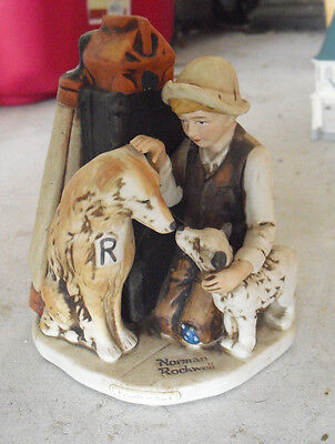 $ CDN45.55 • Buy Vintage 1974 Dave Grossman Porcelain Norman Rockwell Friends In Need Figurine