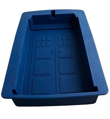 NEW Dr Doctor Who - BLUE TARDIS Silicone Cake Chocolate Jelly Mould  • 19.24£