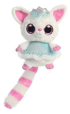 YooHoo And Friends 5  Ice Princess Pammee Fennec Fox Soft Toy Plush By Aurora • 4.95£
