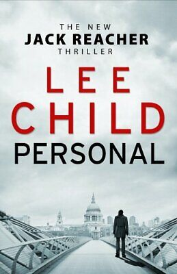 Personal (Jack Reacher 19) By Child, Lee Book The Cheap Fast Free Post • 3.99£