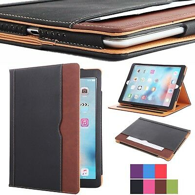 $12.95 • Buy New Soft Leather Wallet Smart Case Cover Sleep / Wake Stand For APPLE IPad