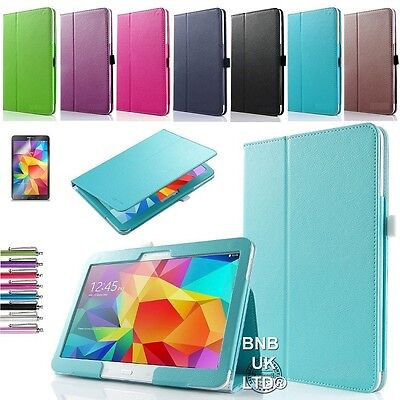 Leather Folio Case Stand Cover For Samsung Galaxy Tab A 9.7 T550 P550 • 5.75£