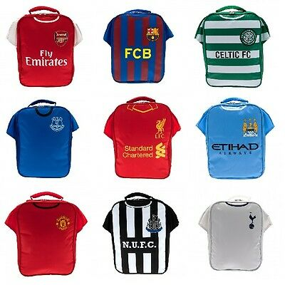 OFFICIAL FOOTBALL CLUB - KIT LUNCH BAG(Box/Back To School/Birthday/Christmas) • 9.69£