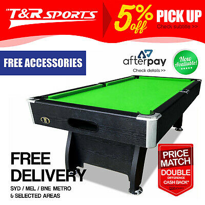 AU650.99 • Buy 15% Off New 8ft Modern Design Mdf Pool Table Snooker Billiard With Accessory