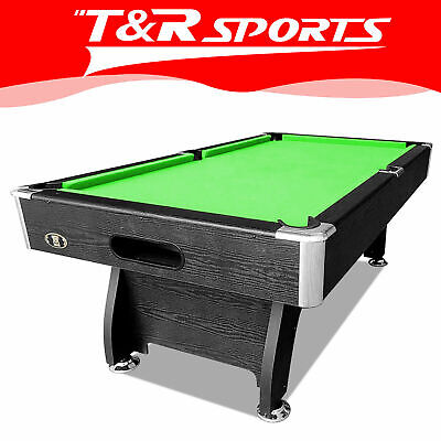 AU650.99 • Buy New 8ft Modern Design Mdf Pool Table Snooker Billiard With Free Accessory Kit