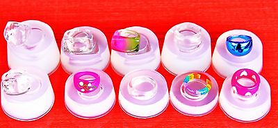 £42.55 • Buy LOT Clear Silicone Rings Molds!! 10 Molds!!!.  Free USA Shipping(O-01)