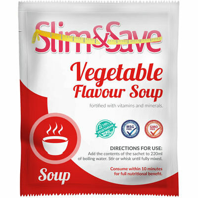 £1.99 • Buy Slim And Save ® VLCD/TFR Diet Meal Replacement Vegetable Soup 151 Cals -NE-1VGSP
