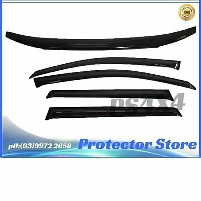 AU119 • Buy Bonnet Protector , Window Visors Weather Shields For Mitsubishi Outlander 12-20