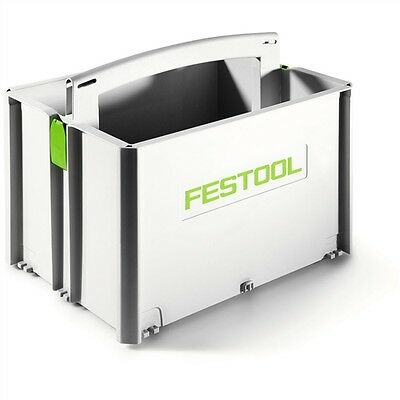 ***brand New - Deeper*** Festool Systainer Toolbox Tote Box 499550 Sys-tb-2 • 43.99£