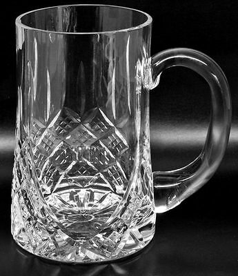 Personalised Engraved Pint Lead Crystal Tankard Glass 18th 21st Birthday • 30£