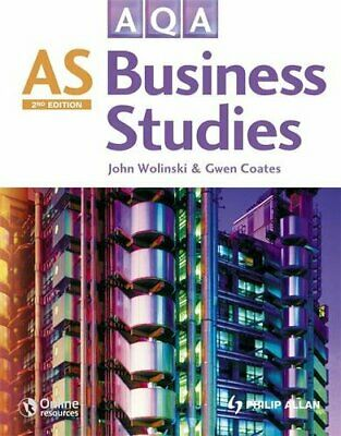 AQA AS Business Studies (Second Edition) By Wolinski, John Mixed Media Product • 4.49£