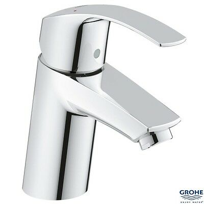GROHE 32467 Eurosmart Single Lever Basin Mixer 1/2  S-Size, No Waste, 3246720L • 52£