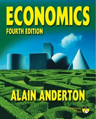 £5.49 • Buy Economics: 4th Edition By Anderton, Mr Alain Paperback Book The Cheap Fast Free