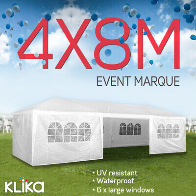 AU249 • Buy Wallaroo 4x8 GAZEBO PARTY WEDDING TENT OUTDOOR EVENT CANOPY MARQUEE
