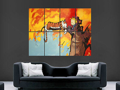 Calvin And Hobbes Kids  Wall Poster Art Picture Print Large  Huge • 17.99£