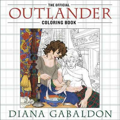 AU35.49 • Buy The Official Outlander Coloring Book By Diana Gabaldon (English) Paperback Book