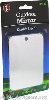 £4.17 • Buy New Emergency Signaling Camping Mirror-  Stainless Steel
