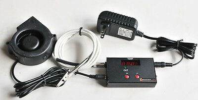 $ CDN107.62 • Buy Automatic Bbq Temperature Controller Charcoal Wood Smoker Grill Pit UDS Weber