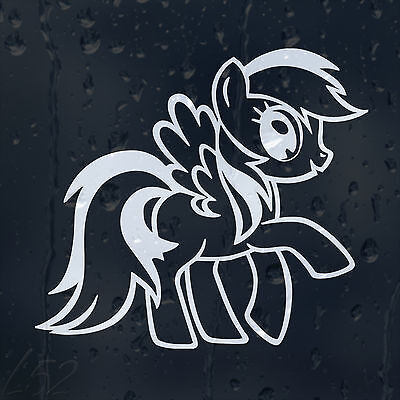 My Little Pony Car Decal Vinyl Sticker For Window Bumper Panel Wall Laptop • 2£