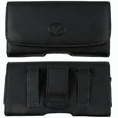 £5 • Buy Leather Sideways Belt Clip Case Pouch Cover Holster For Nokia Cell Phones