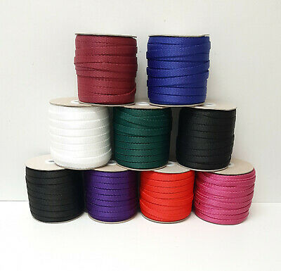 10mm Polypropylene Webbing 1m 2m 5m 10m 25m 50m In 9 Colours Bags Straps Leads • 2.25£