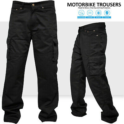Motorbike Motorcycle Cargo Trousers Jeans Pants With Aramid Protective Lining  • 35.99£