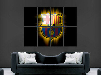 Fc Barcelona Soccer Football Barca Spain Wall Poster Art Picture Print Large • 17.99£