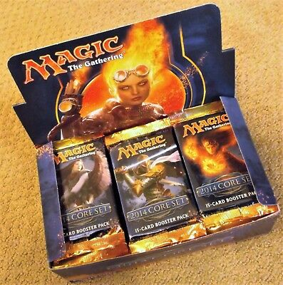 $79.99 • Buy Magic The Gathering Core 2014 Set M14 Booster 1/3 Box 12 Packs Factory Sealed