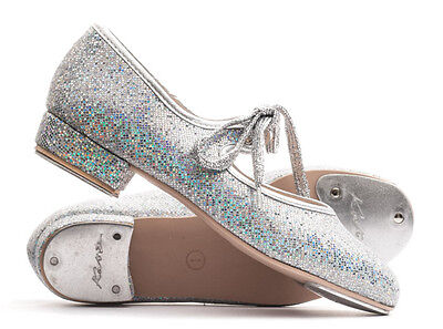 Girls Ladies All Colours Glitter Low Heel Tap Dance Shoes By Katz Dancewear • 19.50£