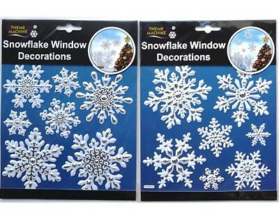 £2.49 • Buy 2 Pack Of SNOWFLAKE/CHRISTMAS STICKERS - CRAFTS/CARDMAKING