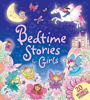 £3.99 • Buy Bedtime Stories For Girls: 20 Sparkly Stories (Treasuries) By Igloo Books Ltd
