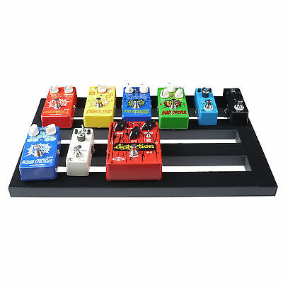 $ CDN53.62 • Buy Guitar Effect Pedal Board Pedalboard With Magic Tape Cable Straps 18.5'' X 10.6