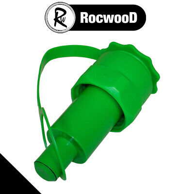£10.25 • Buy Green Petrol Anti Spill Spout For Rocwood Chainsaw Combi Combination Fuel Can