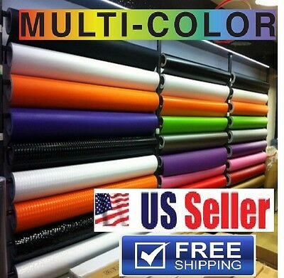 $11.99 • Buy  BUBBLE FREE  Vinyl Wrap Paint Protector Film DIY Sticker/Decal  AIR RELEASE