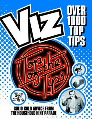 Top Of The Tips (Viz) By Viz Hardback Book The Cheap Fast Free Post • 6.99£