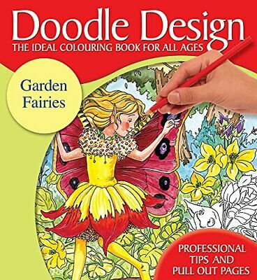 Doodle Design Pad - Garden Fairies By Holland Publishing Paperback Book The • 6.99£