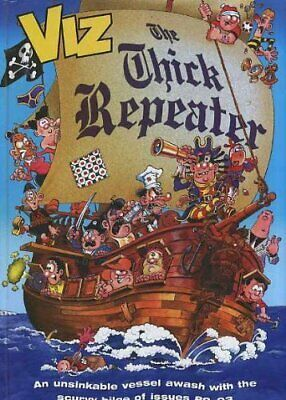 The Thick Repeater By Viz Hardback Book The Cheap Fast Free Post • 8.49£