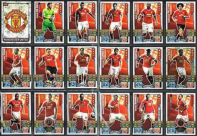 £0.99 • Buy Man United Match Attax 2015/16 Topps Football Cards 2016 Star Play Duo Away Kit