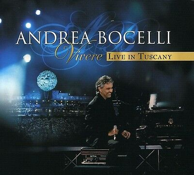 $24.53 • Buy Andrea Bocelli - Vivere Live In Tuscany [New CD] With DVD, Digipack Pa