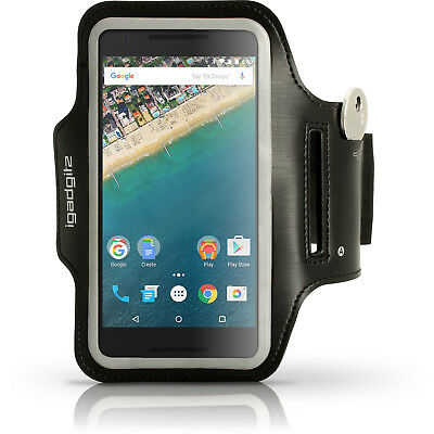 Running Jogging Sports Armband For LG Nexus 5X Fitness Gym Pouch Case Cover • 1.99£