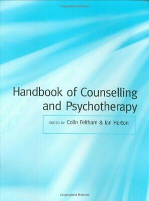 £5.49 • Buy Handbook Of Counselling And Psychotherapy Paperback Book The Cheap Fast Free