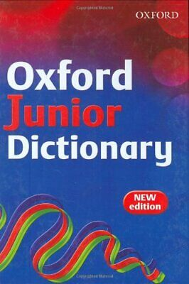 OXFORD JUNIOR DICTIONARY By Dignen, Sheila Hardback Book The Cheap Fast Free • 3.29£