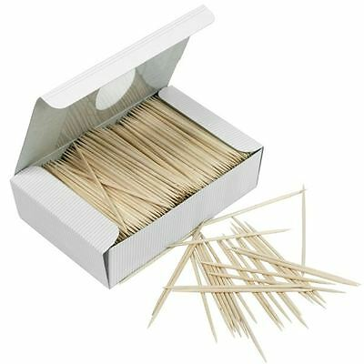 £5.75 • Buy 1000 Wooden Toothpicks Tooth Picks Fruit Cherry Olive Bar Cocktail Sticks Party