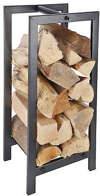 New Large Metal Wood Log Storage Carrier Stove Fireside Accessory Log Store • 32.99£